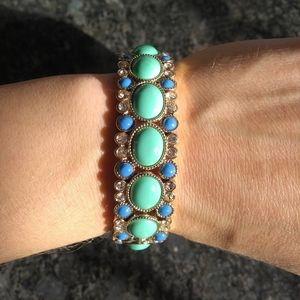 J Crew beaded stretch bracelet